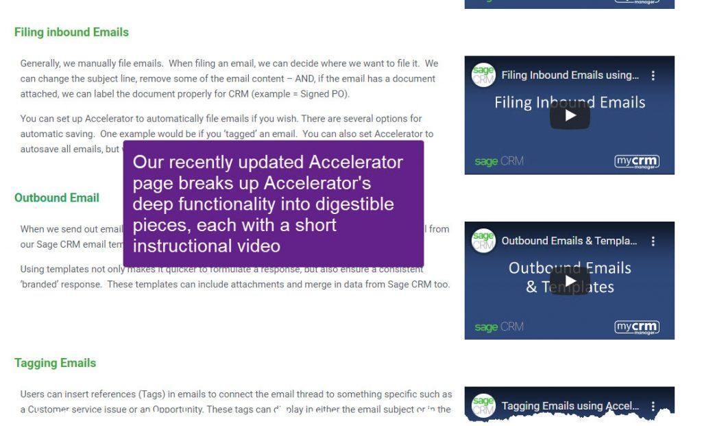 Accelerator Update