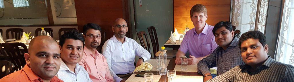 Lunch with Greytrix in Mumbai April 2019