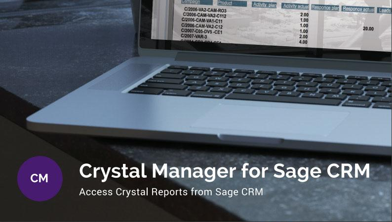 crystal reports for sage crm